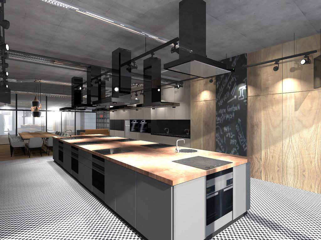 Cook Story by Samsung - przestrzeń kulinarna