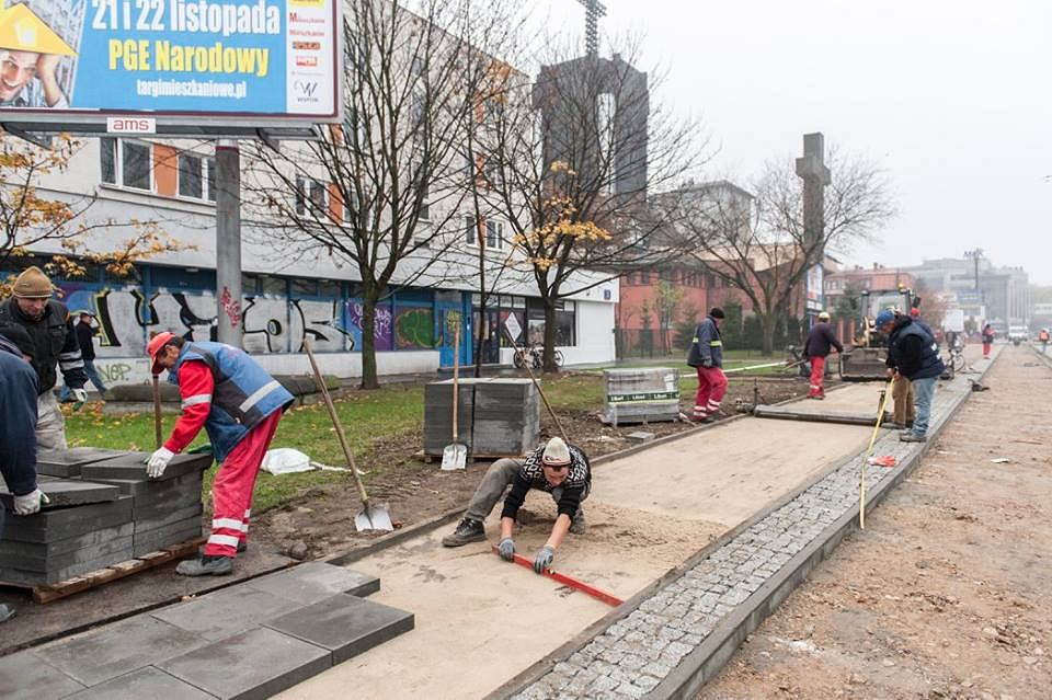 Nowa droga dla rowerów na ul. Rzymowskiego
