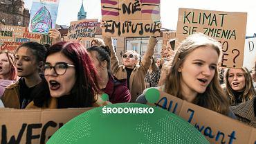 """""""Dosyć słów, teraz czyny"""". W piątek tysiące strajków klimatycznych, w tym w 24 miastach Polski"""