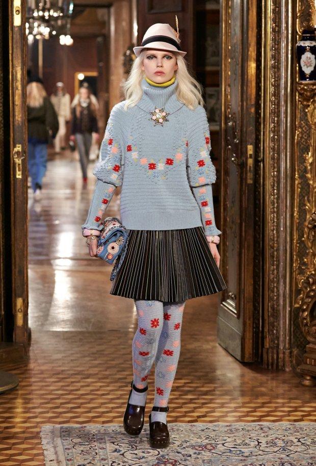 Ola Rudnicka - pokaz Chanel Paris-Salzburg