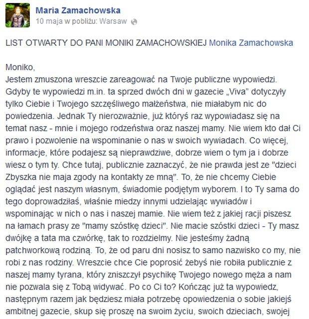 Maria Zamachowska
