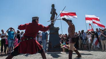 Na Białorusi odsłonięto pomnik Tadeusza Kościuszki