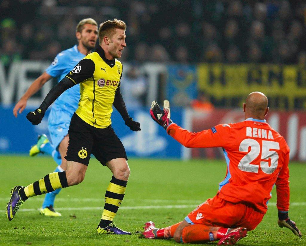 Borussia - Napoli 3:1
