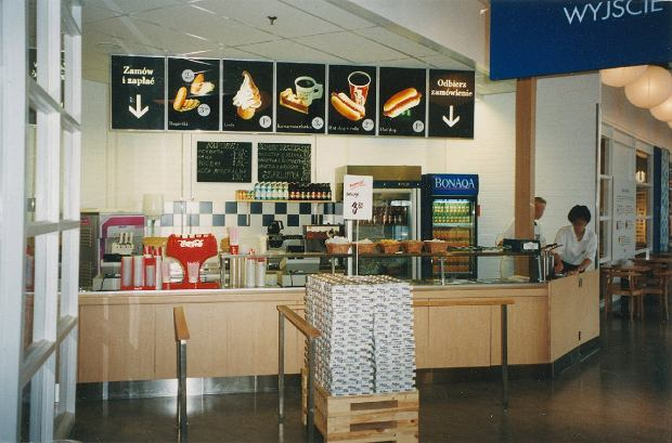 Restauracja IKEA Kraków 1998