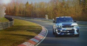 Wideo | Range Rover Sport SVR na Nurburgringu