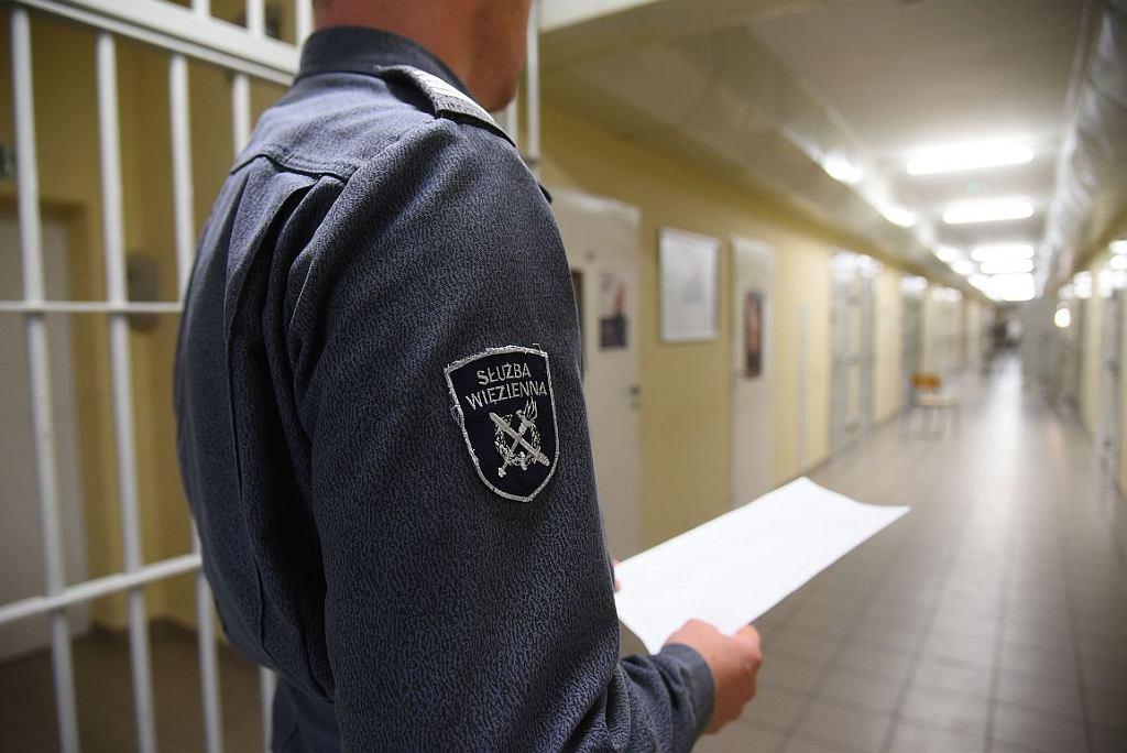 Funkcjonariusze służby więziennej współpracują z wychowawcami i psychologami (fot. Cezary Piwowarski)