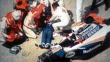 Wypadek Ayrtona Senny podczas Grand Prix San Marino