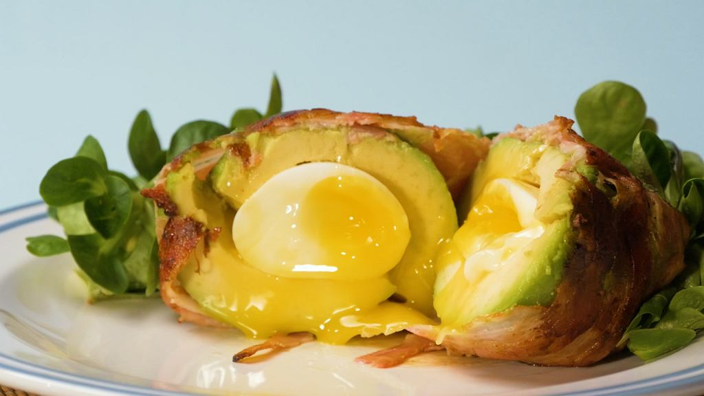 jajko w awokado