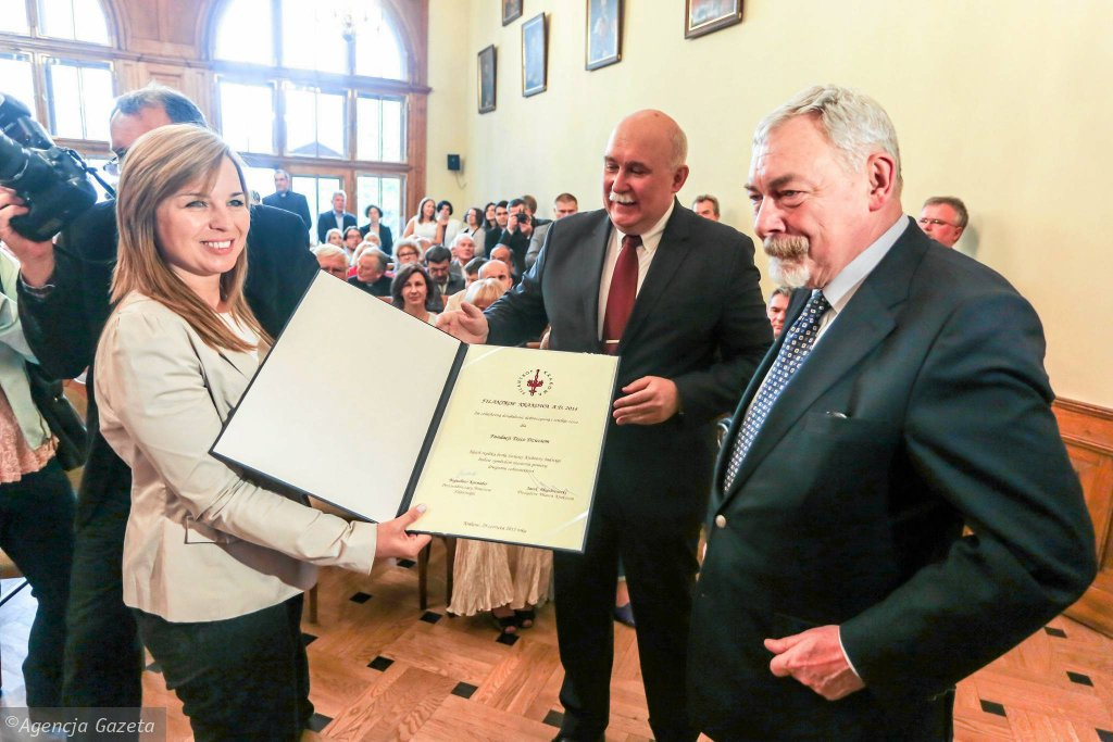 Filantrop Krakowa A.D 2014 - wręczenie nagrody