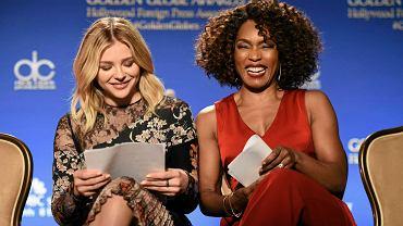 Chloe Grace Moretz i Angela Bassett ogłaszają nominacje do Złotych Globów 2016