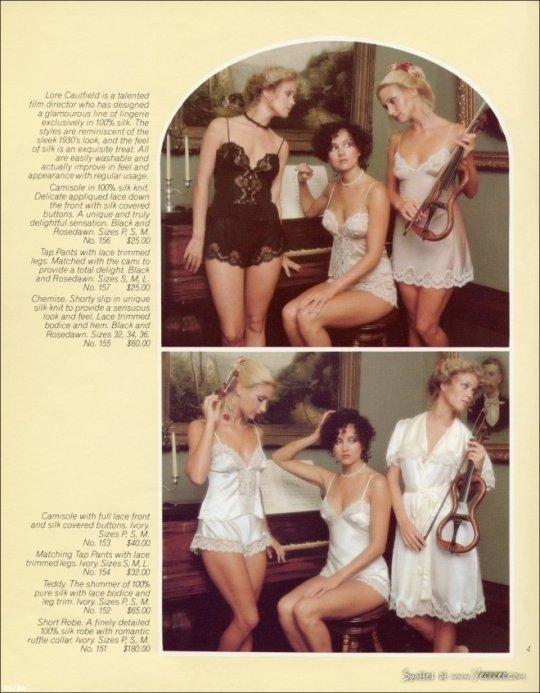 Katalog Victoria's Secret z 1977 r.