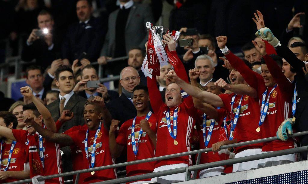 Manchester United z Pucharem Ligi