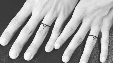 Tatuaże - obrączki