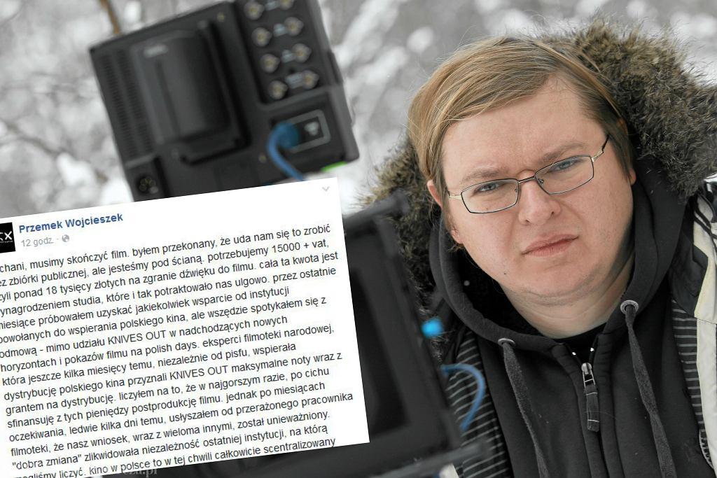 Reżyser Przemysław Wojcieszek