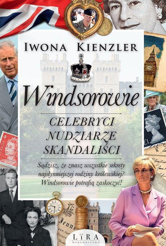 Okładka książki 'Windsorowie', Iwona Kienzler