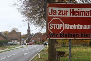 Niemcy rezygnują z węgla, ale wciąż burzą całe wioski pod kopalnie. Mieszkańcy wściekli