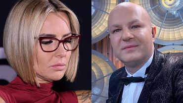Blanka Lipińska i wróżbita Maciej