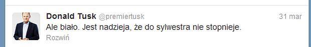 Premier Donald Tusk, opis