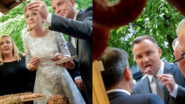 Agata Duda i Andrzej Duda na uroczystej Gali AgroLigi 2017