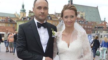 Ślub Anny Gzyry i Jakuba Augustynowicza
