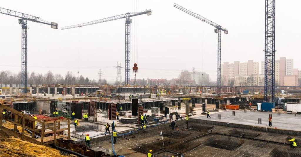 Budowa Galerii Północnej na Białołęce