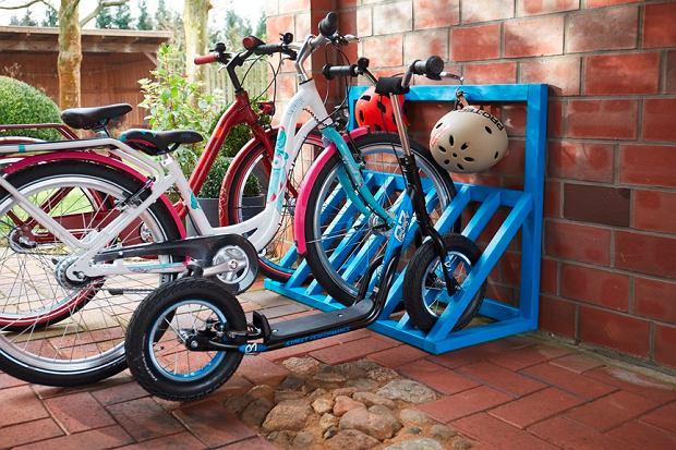 Stojak na rowery - zrób to sam