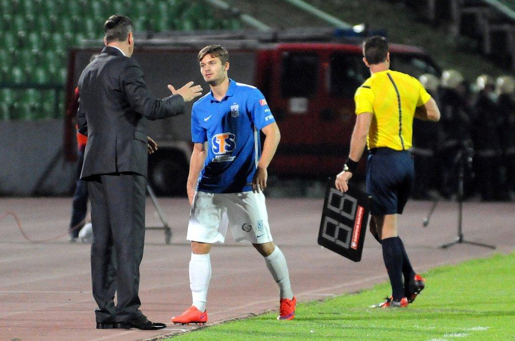 FK Sarajevo - Lech Poznań 0:2. Karol Linetty