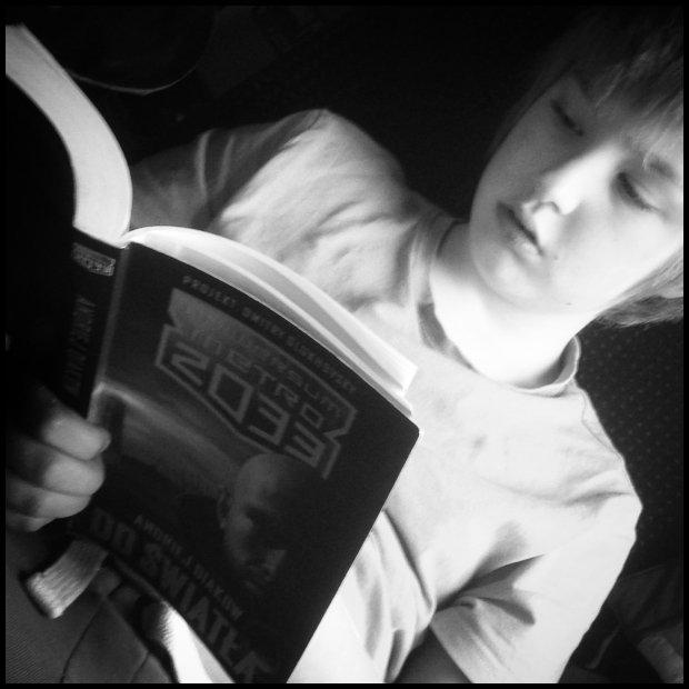 Moje dziecko lubi czytać (Fot. Dominika Węcławek)