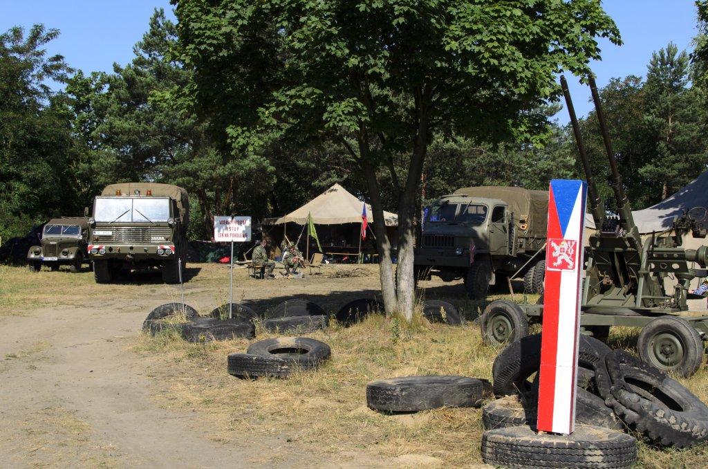Tu stacjonuje Ceskoslovenska Lidova Armáda (fot. Bartosz Kraska)