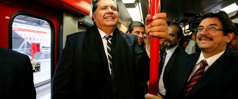 Peru: Były prezydent zmarł po próbie samobójczej podczas aresztowania
