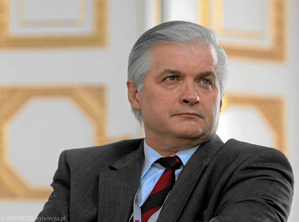 Były premier Włodzimierz Cimoszewicz