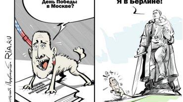 Karykatura RIA Novosti
