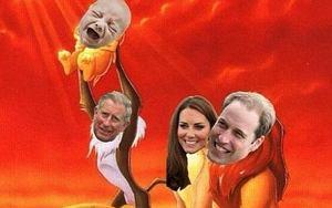 memy o królewskim dziecku