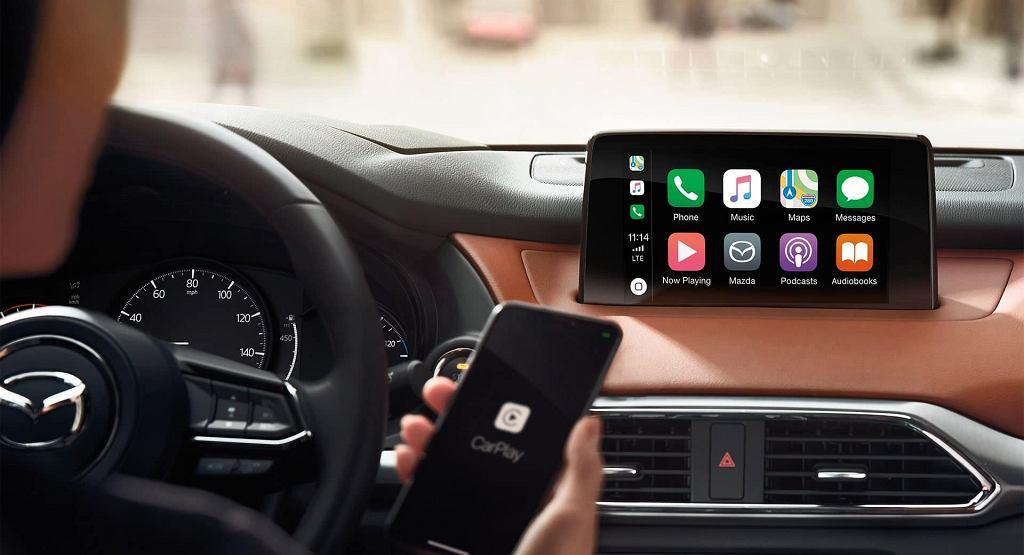 CarPlay w Maździe