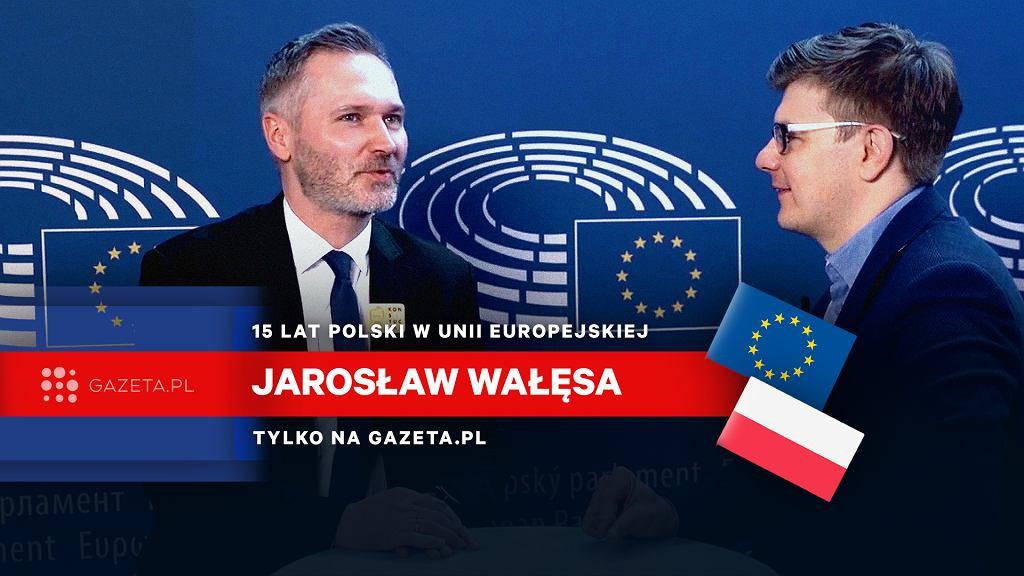 Rozmowa z Jarosławem Wałęsą w Strasburgu