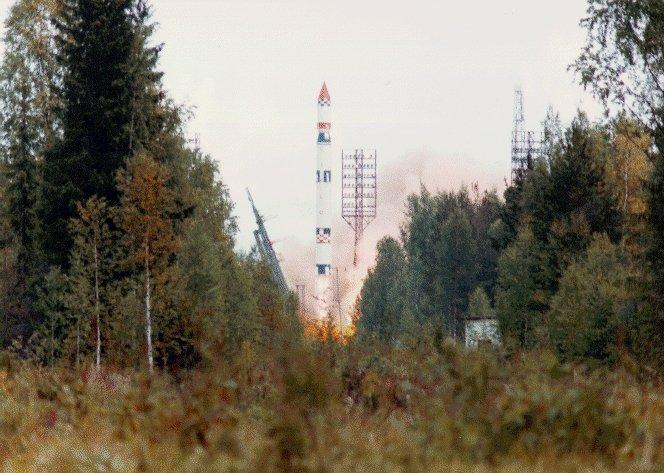 Kosmodrom Plesieck, z którego startowały satelity programu