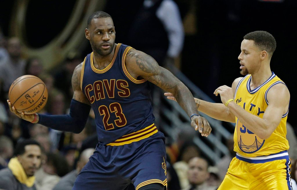 LeBron James i Stephen Curry