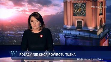 Fragment 'Wiadomości' TVP