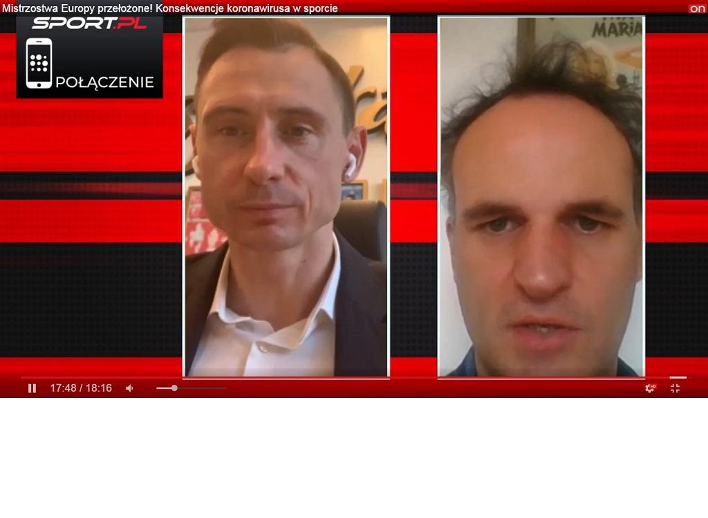 Maciej Sawicki, sekretarz generalny PZPN w rozmowie z Pawłem Wilkowiczem