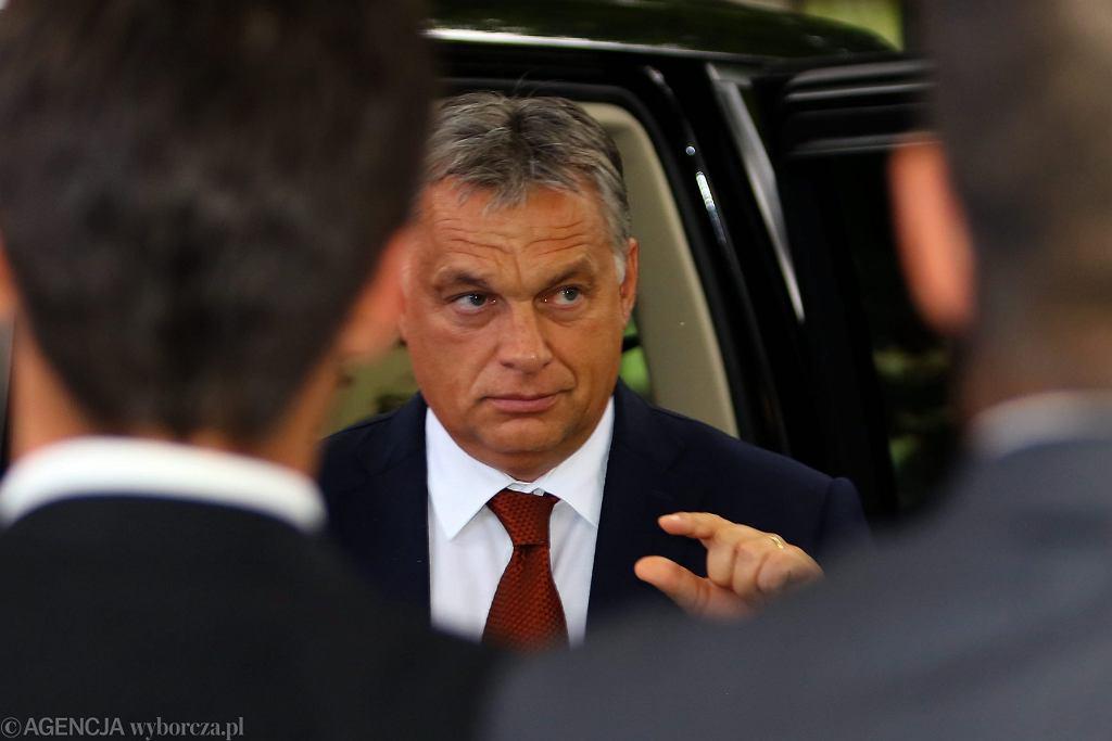 Premier Węgier Viktor Orban podczas Forum Ekonomicznego. Krynica, 6 września 2016