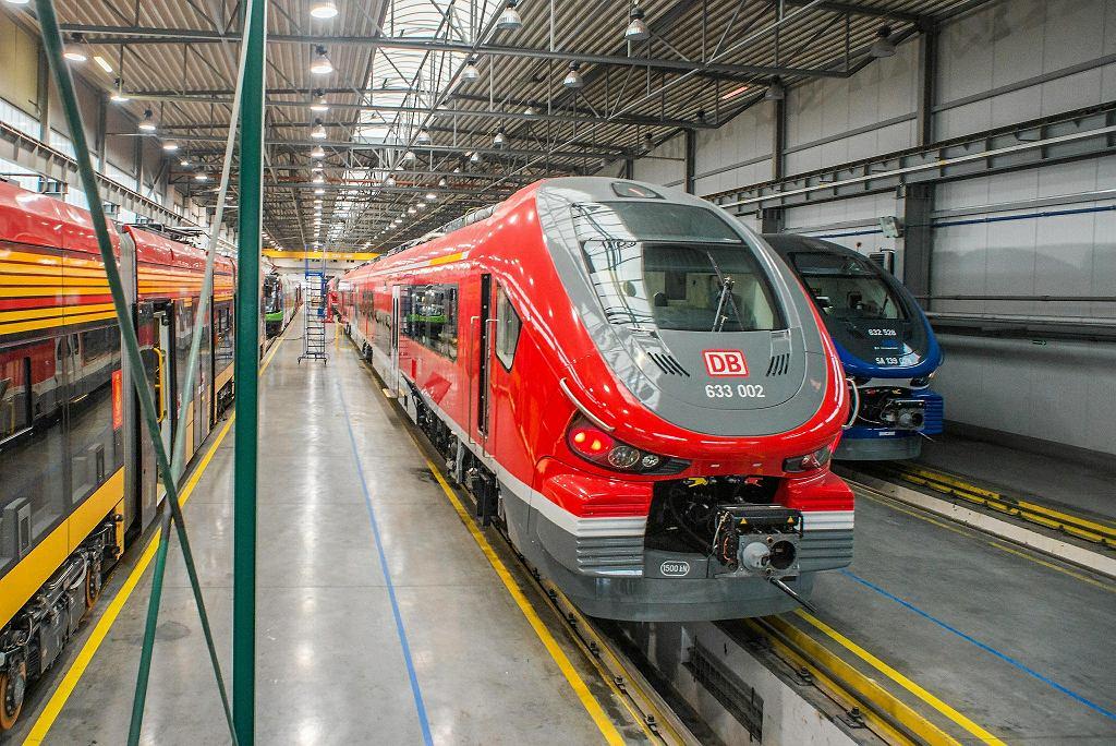 Link, jeden z hitów Pesy, która zapewnia, że to najbezpieczniejszy na świecie pasażerski pojazd kolejowy z napędem spalinowym