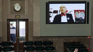 Częściowo zdalne posiedzenie Sejmu