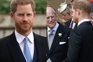 Książę Harry na ślubie kuzyki