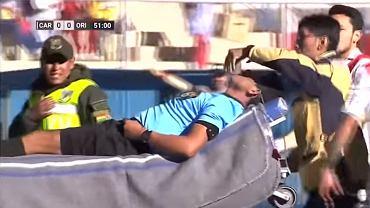 Podczas meczu boliwijskiej ekstraklasy arbiter doznał ataku serca