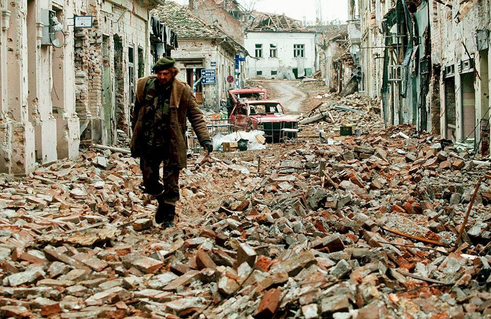 Zniszczony Vukovar, 30 listopada 1991.