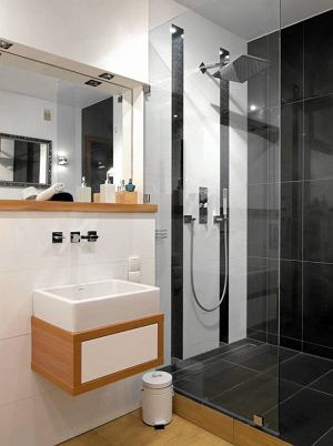 Kabiny prysznicowe - aranżacje