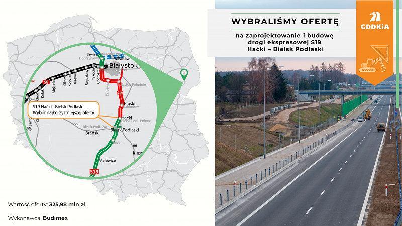Via Carpatia, S19 Haćki - Bielsk Podlaski