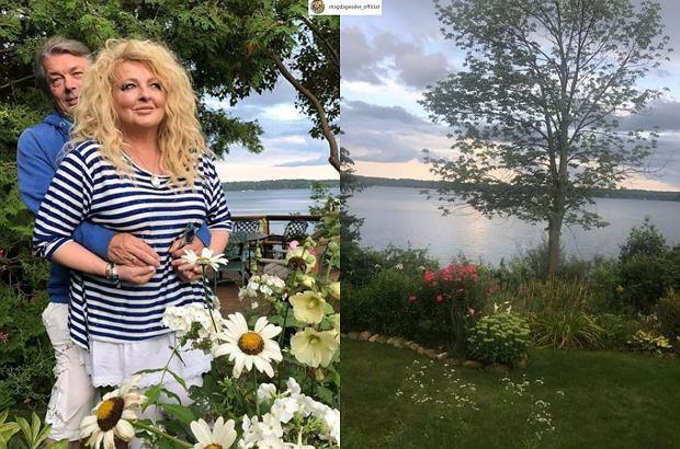 Zdjęcie numer 4 w galerii - Tak mieszka Magda Gessler w Kanadzie. Jest tam już... choinka. I piękny kominek.