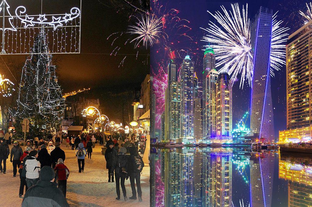 Pobyt w Dubaju na Sylwestra jest tańszy niż w Zakopanem