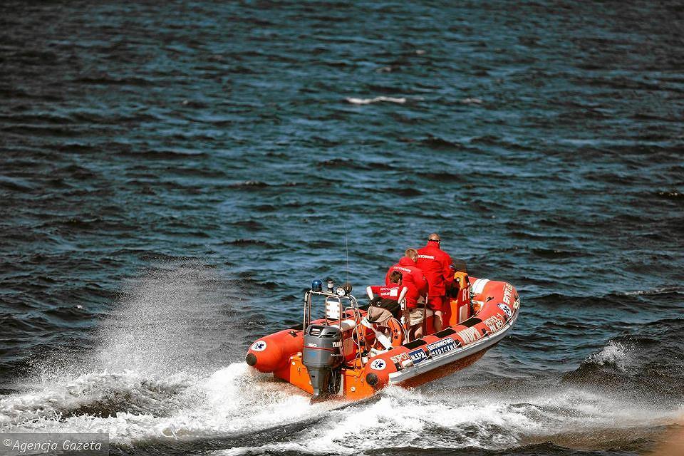 Akcja ratownicza WOPR
